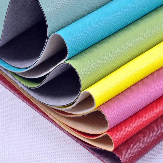 Tecidos de Couro sintético Cruz Patten PVC Decorativa Artificial Material de Couro desgaste-oposição para Material de costura de Couro Da Pele