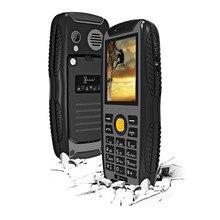 КЕН XIN ДА Проверки W3 Телефон IP68 Водонепроницаемый Противоударный Пылезащитный 2.2 дюймов Поддержка Bluetooth FM Сети 2 Г