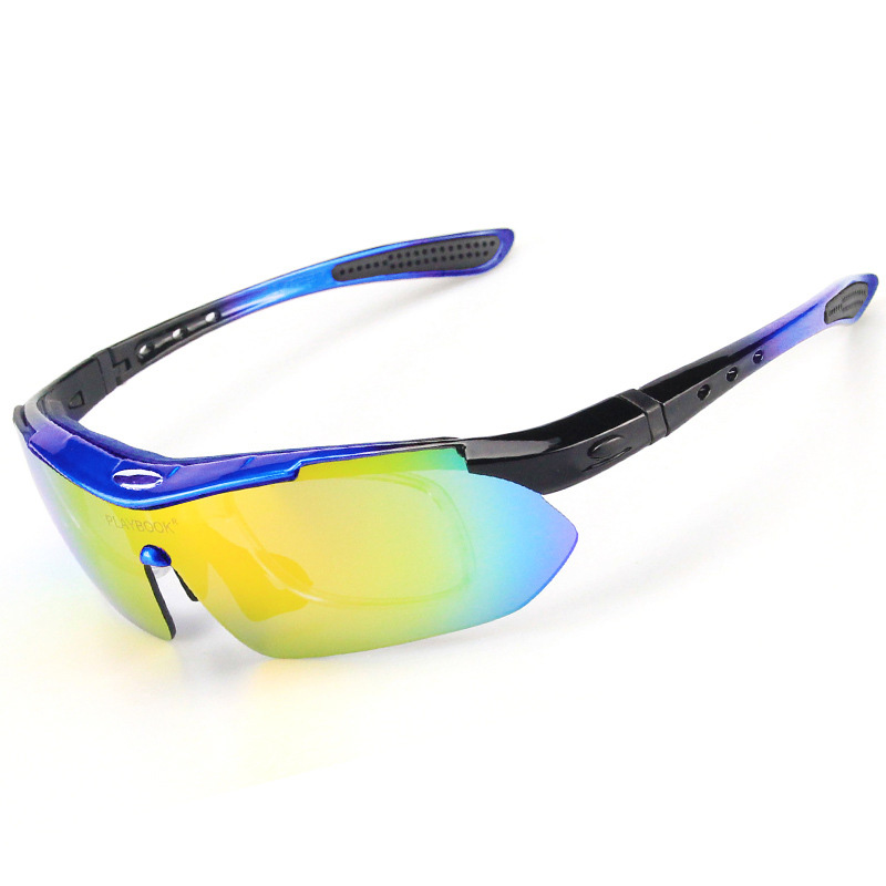 Most Popular Polarized Cycling SunGlasses 5 Lens UV400 Mountain Bike Goggles Cycling Eyewear Outdoor Riding Protection Goggles (6)