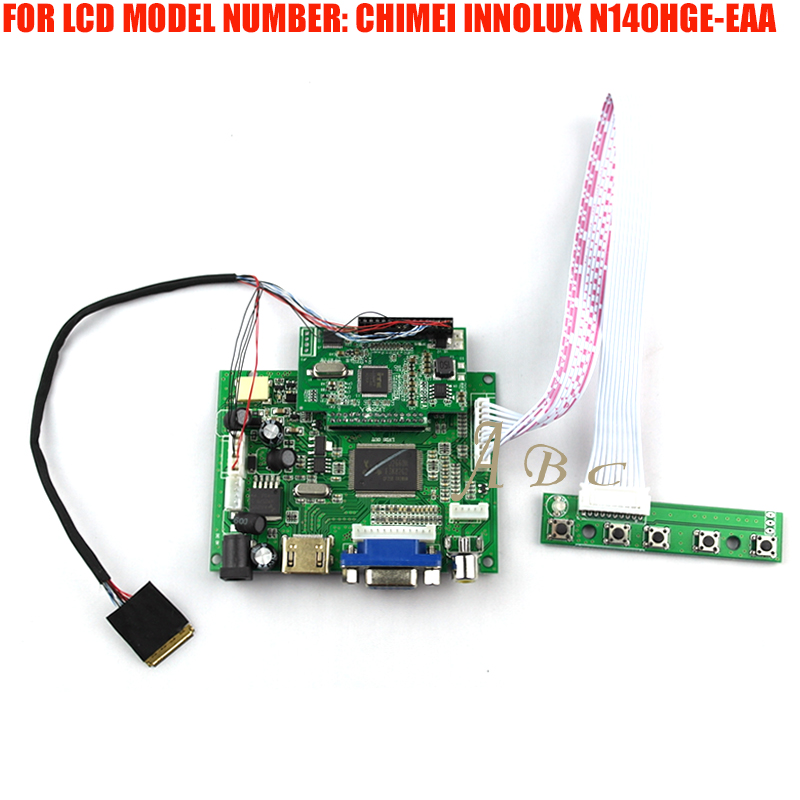 """Hdmi Vga 2av Led Controller Board Kit For Chimiei Innolux N140hge-eaa 14"""" 1920x1080 30pin Edp Tft Lcd Display Panel Screen Beneficial To The Sperm"""