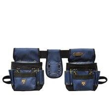 PT-N012 Oxford Tuch Werkzeuggürtel Taille Tasche Werkzeugtasche Elektriker Arbeit Taschen Ohne Deckel