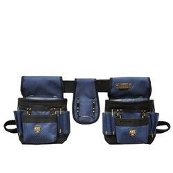 PT-N012 Oxford tela cinturón de herramientas bolsa de herramientas electricista bolsas de trabajo sin tapa