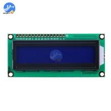 1602 ЖК-клавиатура Щит экран для Arduino ЖК-дисплей HD44780 синий экран черный свет модуль IIC/iec для Arduino