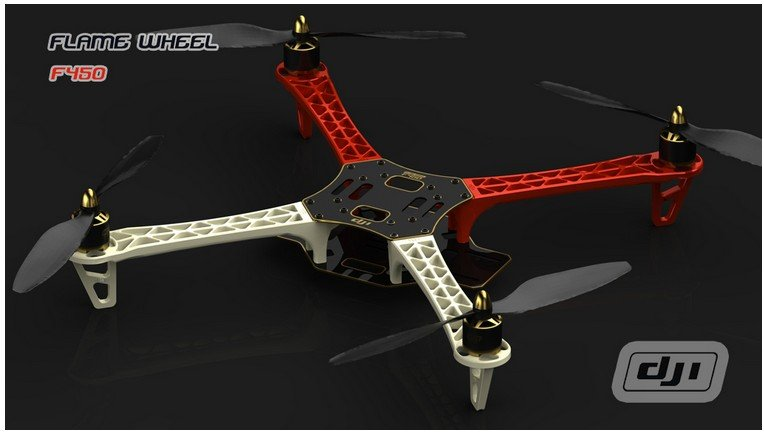 dji f450 multicopter quadcopter frame kit combo with esc motor propeller in parts accessories from toys hobbies on aliexpresscom alibaba group - Dji F450 Frame