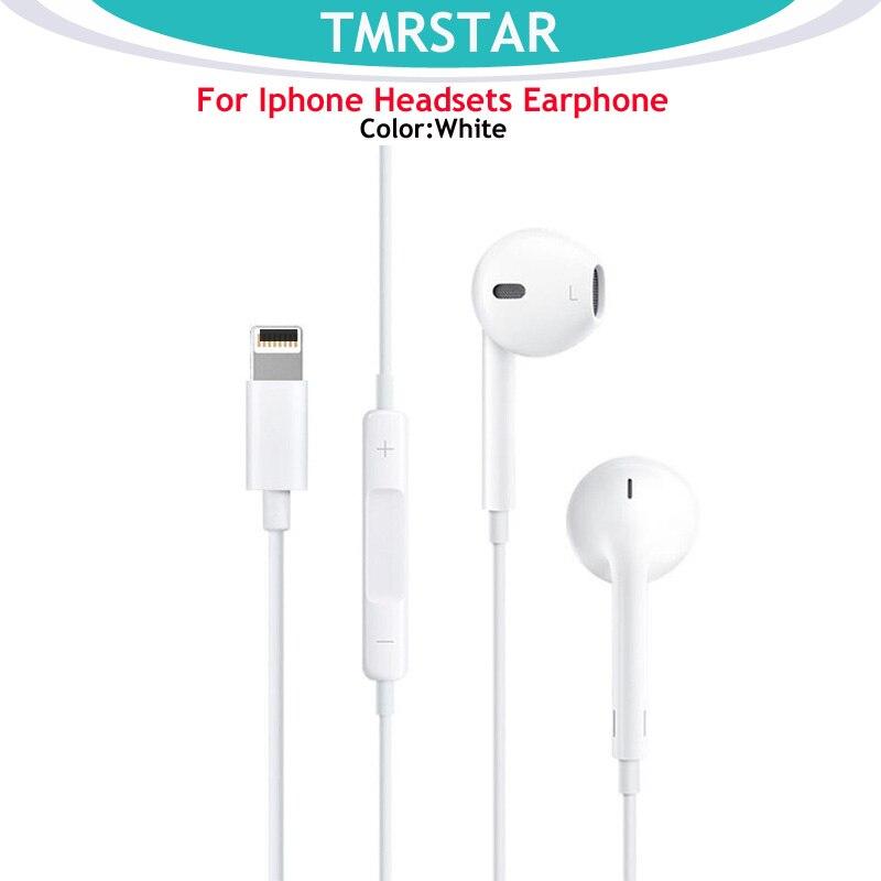 for Apple Earphones iPhone 7 Earphones In-line headphones Remote Microphone for iPhone 7 7 Plus 8 8 Plus X