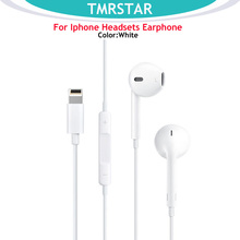hot deal buy for apple earphones iphone 7 earphones in-line headphones remote microphone for iphone 7 7 plus 8 8 plus x
