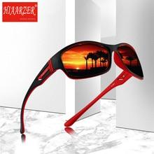 цена на Luxury Coating Mirror Polarized Sunglasses Men Driving Sports Goggles Sun Glasses For Men Women Square Oculos De Sol With Case