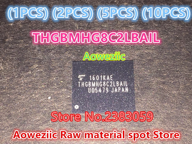 Aoweziic   (1PCS) (2PCS) (5PCS) (10PCS) 100% new  original  THGBMHG8C2LBAIL   BGA    32G   Memory chip 1pcs 2pcs 5pcs 10pcs 100% new original kmr310001m b611 bga memory chip