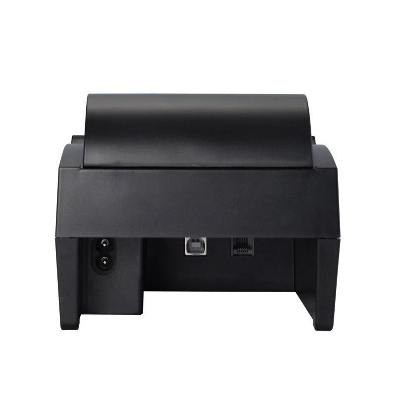 Impressoras térmica 58iih preto, 58mm impressora Working Environment : Temperature (0~45°c) Humidity(10~80%)