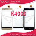 Черный и Белый и Золотой Сенсорный Датчик Для OUKITEL K4000 Сенсорным Экраном Дигитайзер Панели