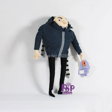 New Pop High Quality Gru Plush Toy Despicable Me 2 Movie Action Figure Gru Plush Toy For Gift