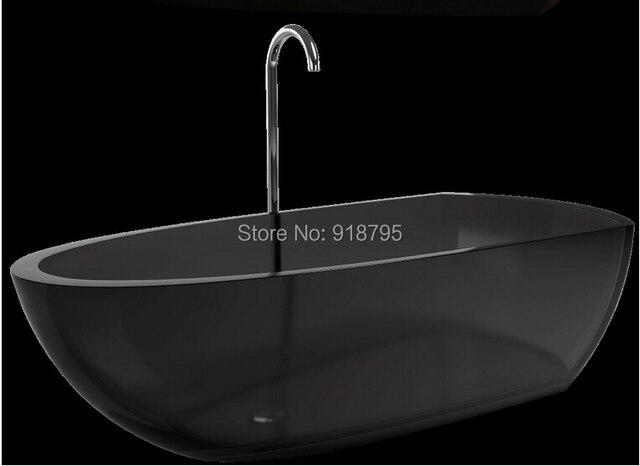 Rechthoekig Ontwerp Badkamer : 1800x800x500mm nieuwe ontwerp hars acryl bad gekleurde vrijstaande