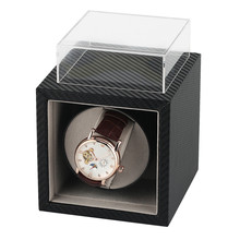 12*13*12 cm Winding Box Storage Watch Winder Luxury Motor Case Single Holder Automatic Watch Winding Machine US/UK/AU/EU Plug luxury automatic watch winding box single holder silent motor storage box winder case for mechanical self wind clocks with plug
