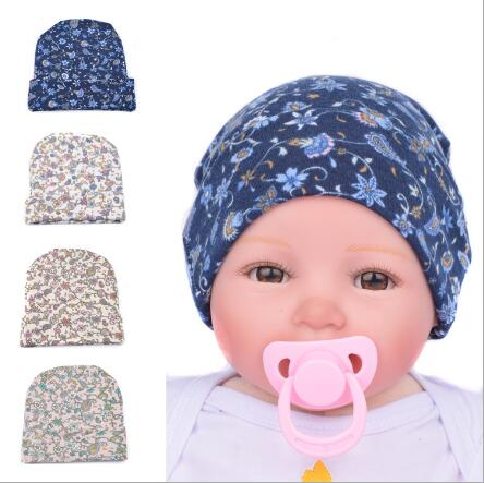 on sale Baby Girl Toddler Infant Children Flower Hat Cotton Floral Hat Cap Newborn  Hats Baby Beanies Cap Hospital Hat 4 Colors-in Hats   Caps from Mother ... e9859ca9efd4