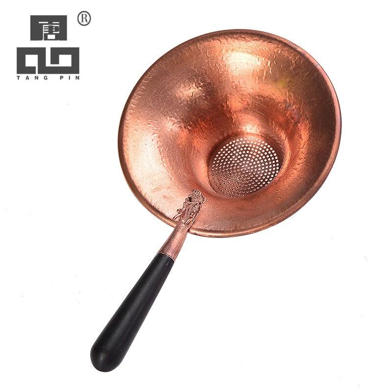 Outils à café et à thé TANGPIN accessoires à thé en cuivre