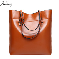 Aelicy Luxury Handbags Women bags Designer High Quality Soft PU Leather Lunch Bags Lady Large Capacity Tote Bags Shopping D42