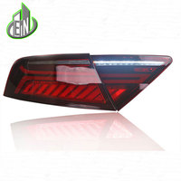 Car Styling For Audi A7 Tail Light Assembly 2011 2017 LED Tail Lights Rear Lamp moving turn signal light Taillight Accessories