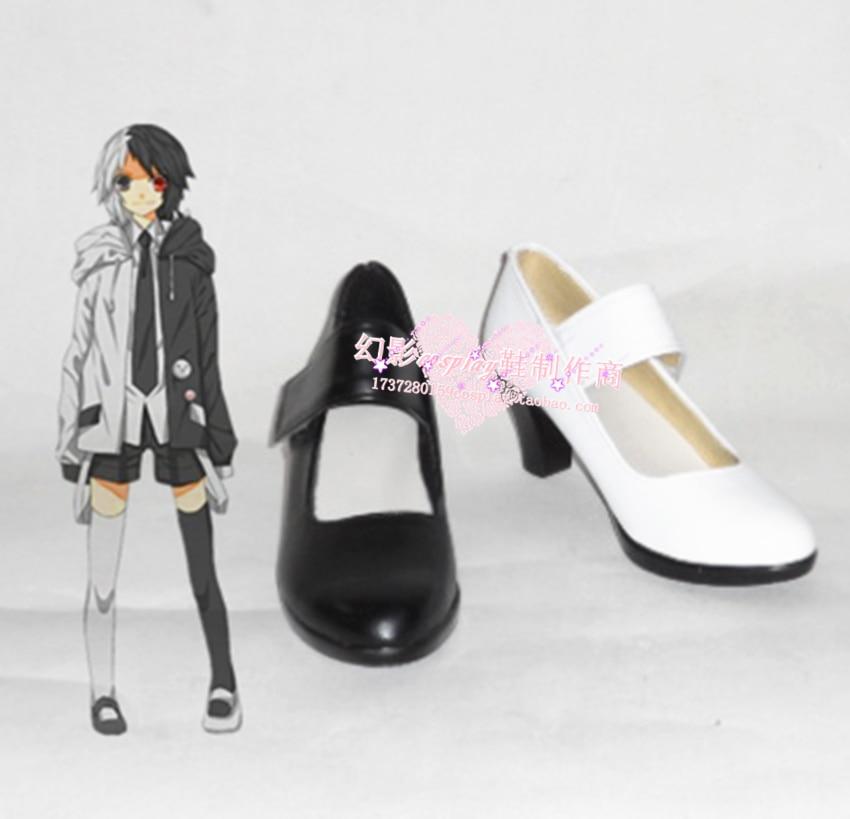 Dangan Ronpa Monokuma Halloween high Heels Cosplay Shoes H016