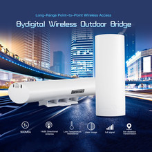 Draadloze Outdoor 900Mbps 5.8G 14dBi CPEBridge Directionele Antenne Lange Afstand Point-to-Point Draadloze Toegang (A + B)(China)