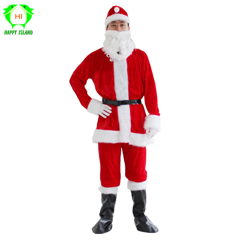 New Christmas Suits Santa Claus Costume For Men Adults Christmas Costumes Anime Cosplay For Women New Year's Costumes for adults