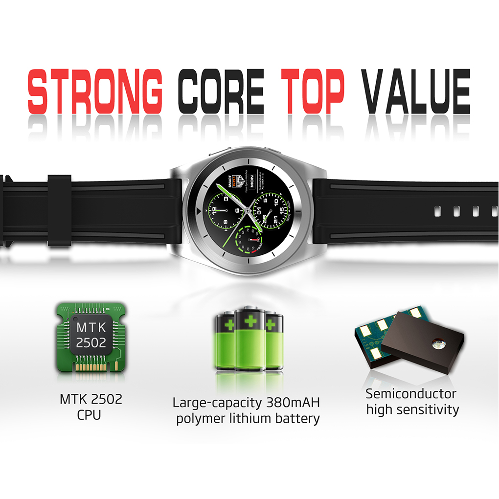 Gearbay Watches Psg Monitor Watch Life Bluetooth Heart G6