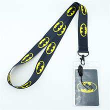Superhero Comics Batman Key Lanyards Neck Strap ID Card Mobile Phone Strap USB Badge Holder Rope Key Chain Cosplay Gifts New