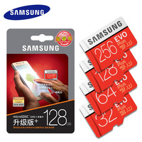 SAMSUNG Micro SD Card Memory Card EVO Plus 256GB 128GB 64GB 32GB 16G Class10 TF Card