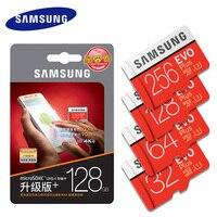 SAMSUNG Micro SD Card Memory Card EVO Plus 256GB 128GB 64GB 32GB 16G Class10 TF Card