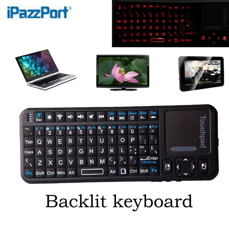 ipazzport bluetooth handheld wireless 82keys keyboard air mouse backlit lowest price ultra. Black Bedroom Furniture Sets. Home Design Ideas
