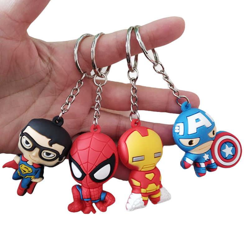 Endgame Chaveiros Vingadores Ferro Estranho Aranha Superman Homem De Ferro Capitão América Figuras Brinquedos Bonecas Combinar Com O Traje