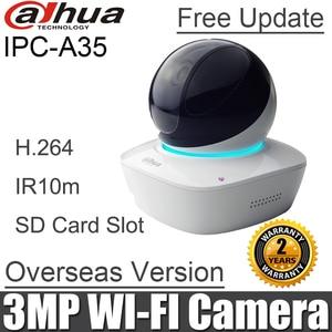 Image 1 - English Dahua IPC A35 mini PT ip camera baby monitor Built in Mic & Speaker DH IPC A35 HD PT 3MP Wi Fi Network Camera