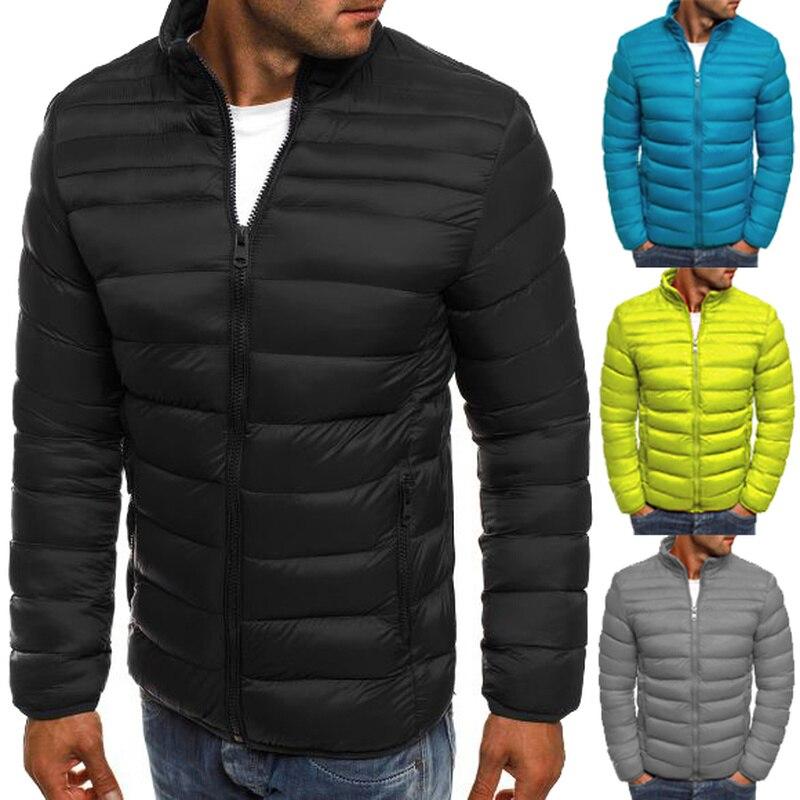 ZOGAA 2019 New Jackets   Parka   Men Quality Autumn Winter Warm Outwear Brand Slim Mens Coats Casual Windbreak Jackets Men S-3XL