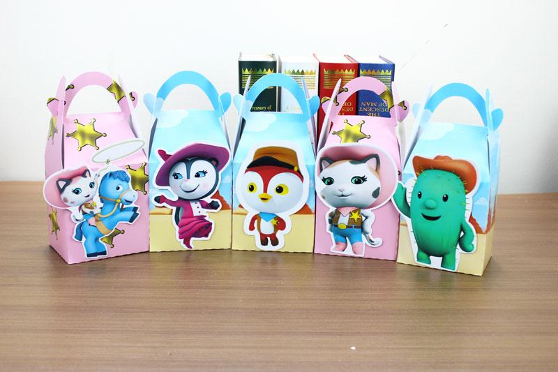 Callie Favor Box Candy Box Gift Box Cupcake Box Kids