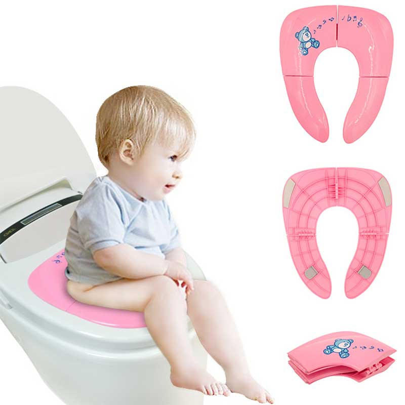 Newest Child Wc Chair Toilet Seat Cover Folding Potty