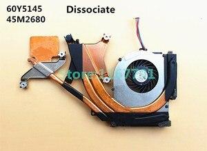 New Original Laptop/Notebook CPU cooling Radiator Heatsink&Fan for Lenovo Thinkpad T410S 60Y5145 45M2680 DIS UMA