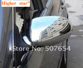 Free shipping!Higher star ABS chrome 2pcs car side Door Mirror protection Cover decoration cover For Hyundai Verna 2010-2016