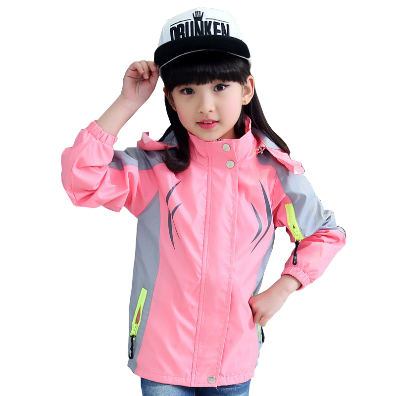 Tribros Autumn Winter Style Girls Kids Hooded Casual Sport ...
