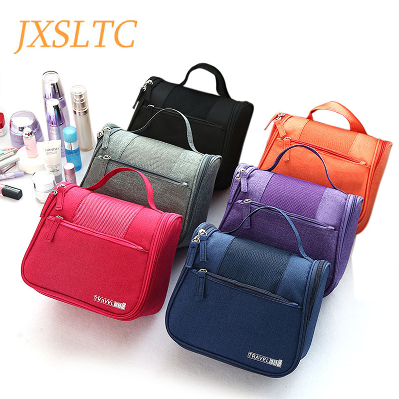 Fashion New Large Capacity Hanging Travel Makeup Bag Women Large Necessaries Toiletry Cases Wash Bag Women Men Toilet Wash Bags