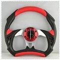 New arrival Car steering wheel modified steering wheel automobile Racing steering wheel PVC  momo steering wheel