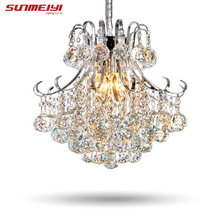 font b 2017 b font Luxury Crystal Chandelier Living Room Lamp lustres de cristal indoor
