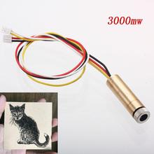 3000mw 4pin sterowanie ttl pwm 445nm głowica laserowa wymień zestaw dla neje dk-8-kz dk-8-fkz dk-bl grawer laserowy tanie tanio