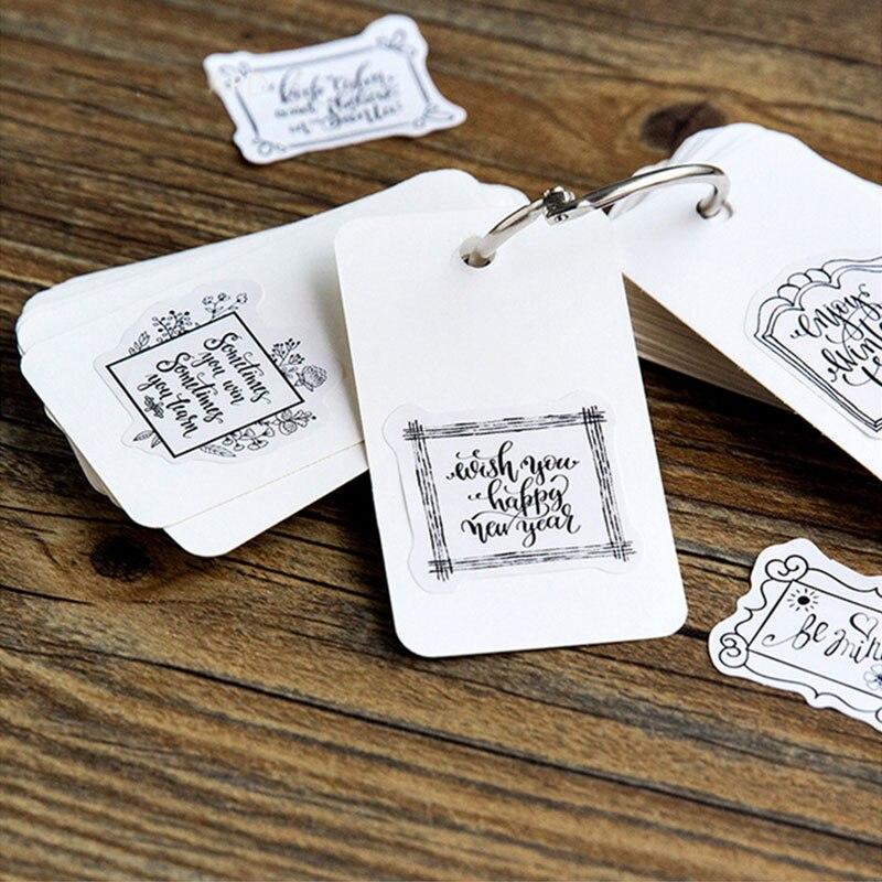 Купить с кэшбэком 45 Pcs/box Creative Write a letter mini Paper Decoration DIY Scrapbook Notebook Album seal Sticker Stationery Kawaii Stickers