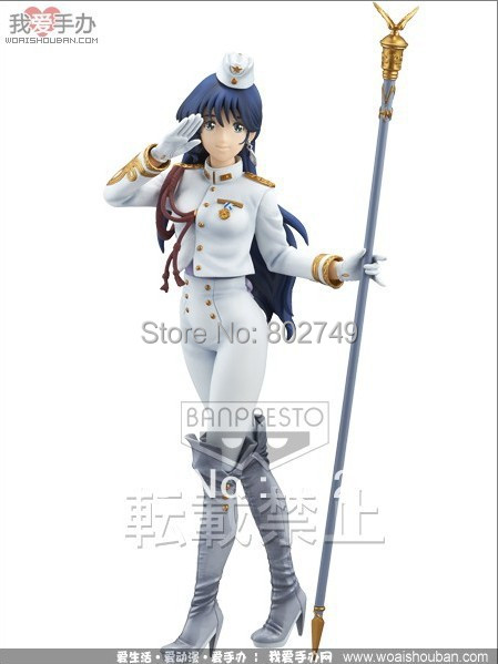 Macross Series action figure Lynn Minmay Macross 30th Anniversary SQ figure PVC 25cm sexly girls toy New In Box 25cm original edition exq series macross f sheryl nome slender legs ver pvc action figure collection toy doll with box