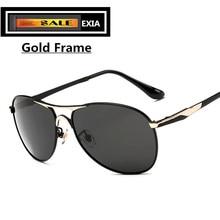 Classical Pilot Men Sunglasses with Polarized UV400 TAC Lenses EXIA OPTICAL KD-8722 Series