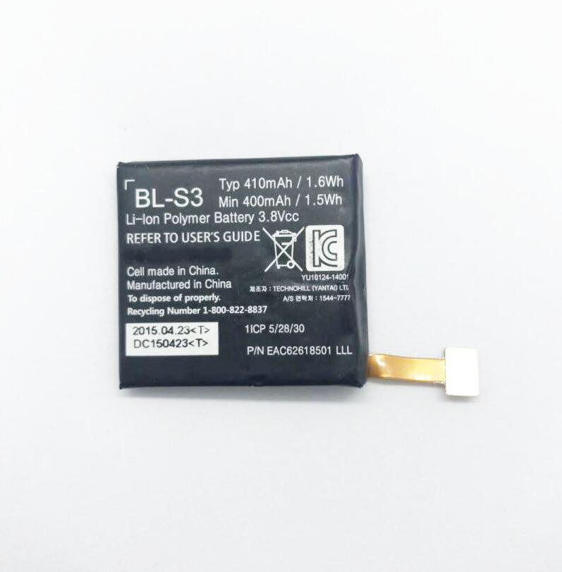 GeLar 410 mAh smart watch battery for LG G Uhr W110 W150 BL-S3