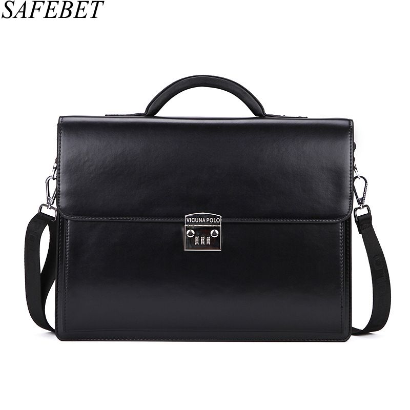 SAFEBET Brand 2017 Men bag Messenger Bag Man Crossbody Shoulder Bag Business Tote Briefcases PU Leather Handbags Travel Bags safebet brand crocodile pattern fashion men shoulder bags high quality pu leather casual messenger bag business men s travel bag