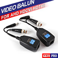 RJ45 Balun CCTV Balun 1CH Passiva Vídeo Balun Transceptor Fornecer Energia Para HDCVI HDTVI AHD Analog Câmera de Alta Definição