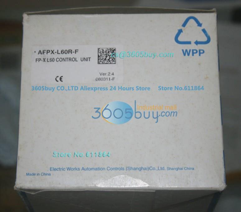 New Original PLC FP-XL series AFPX-L60R-F FP-X L60