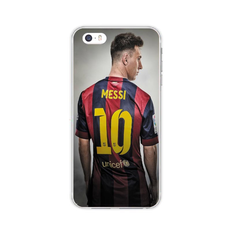 e177a2d6f Silicone Spain Barcelona Football Jersey Messi For IPhone 5 5S SE 6 6S Plus  7 7plus Case soft slim Tpu Silica Phone Shell Cover on Aliexpress.com