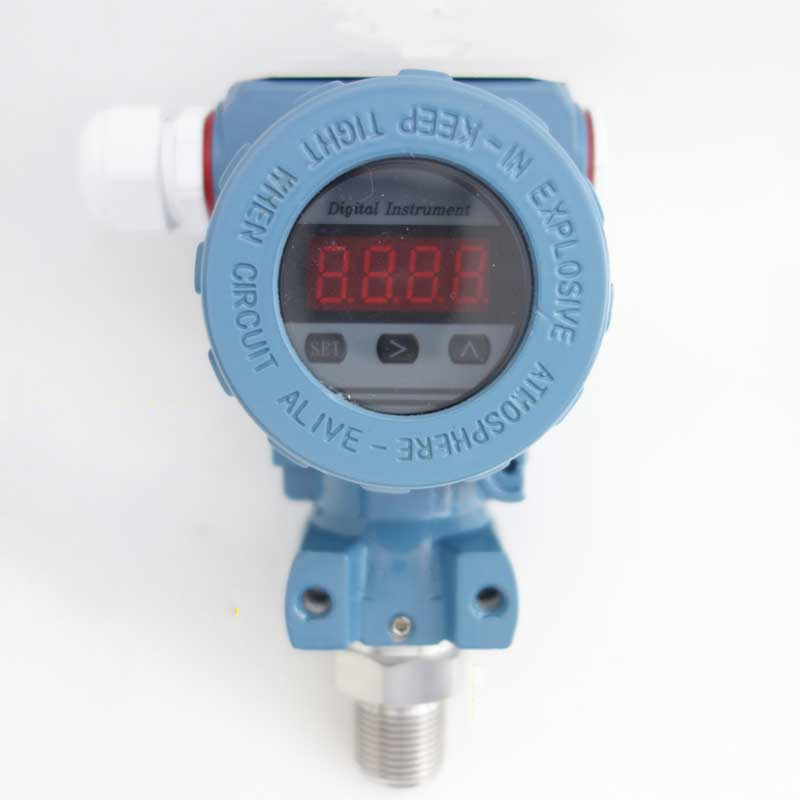 0-0.16-60Mpa Intelligent LED display Silicon Pressure Transmitter Pressure Transducer G1/4 4-20mA output non cavity pressure transmitter transducer pst na